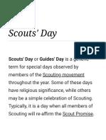 Scouts' Day - Wikipedia