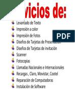 multiservicios 3d