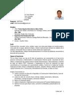 CV TSU. Carlos Leal