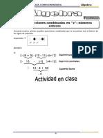 Algebra - 6to Grado - I Bimestre - 2014