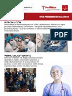 pensum premedico
