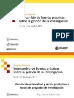 Karina Bañon-Vinculación Universidad y Sector Productivo a Través de Proyectos de Investigación