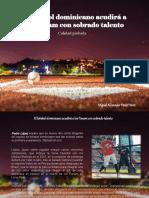 Miguel Alexander Pérez Pérez  - El béisbol dominicano acudirá a los Panam con sobrado talento