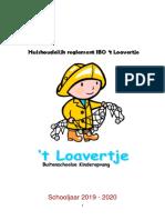 Huishoudelijk Reglement Felies IBO 't Loavertje