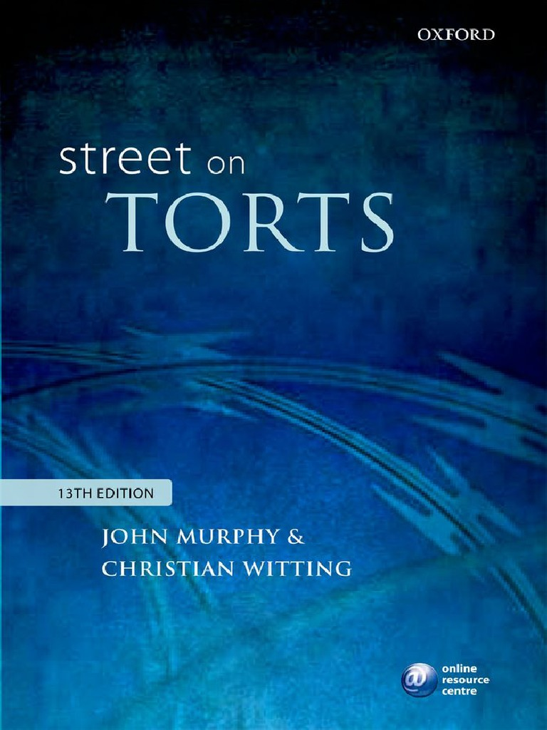 Lilley Tile And Stone Llp john murphy, christian witting-street on torts-oxford