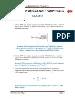 Ejercicios Resueltos y Propuestos Clase 8