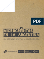 Libro Microcréditos en Argentina