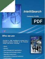 IntelliSearch - Company Profile - 2015-V03-E