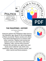 Evolution of Philippine Politics