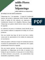 07-06-2019 Se reúne Astudillo Flores con integrantes de Coparmex Chilpancingo.