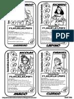 Fichas 3D&T - Infantil Encarte