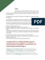 INTERVENCION EN ATAXIA ESPINOCEREBELOSA TIPO 2