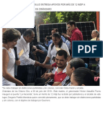09-06-2019 Gobierno de Héctor Astudillo entrega apoyos por más de 12 mdp a pobladores del municipio de Zirándaro.