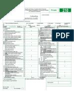 Formulario 210 Sistema Cedular