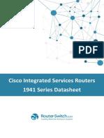 Cisco Routers 1941 Series Datasheet