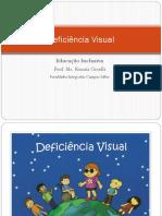 Aula - Deficiência Visual