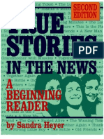 True Stories in the News - A Beginner Reader