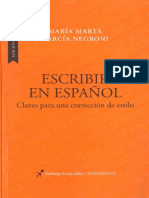 García Negroni - Escribir en español