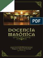 DOCENCIA MASÓNICA
