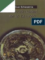 1. LIBRO_Bolívar Echeverría - La Modernidad de Lo Barroco
