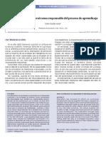 La Arquitectura Cerebral Como Responsable Del Proceso de Aprendizaje - Dzib-Goodin Alma