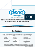 Dena Nanometric Manufacturing Technology