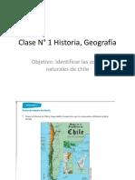 Clase N° 1 Historia, Geografía