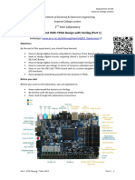 Experiment Sheet - FPGA Design ALL
