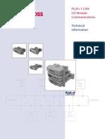 Sauerdanfoss Series Plus1 Modules Catalogue en 520l1029