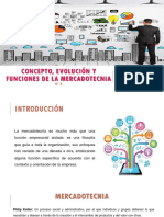 Concepto, Evolución y Funciones de la Mercadotecnia.