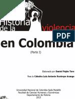 Historia de La Violencia en Colombia (Parte I)