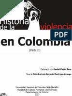 Historia de La Violencia en Colombia (Parte II)