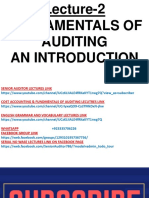 Fundamentals of Financial Auditing 2