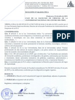 Directiva Evaluacion Del Logro de Aprendizaje