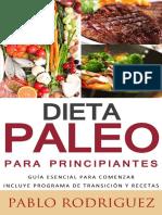 Dieta Paleo Para Principiantes