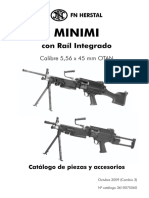 Minimi 5.56 Con Riel Integrado 2009