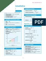 Formulas Estadística