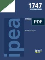 DESINDUSTRIALIZAÇÃO - TD_1747 - G. Squeff.pdf