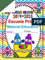 AgendaEscolarCRAYOLA19-20MEEP