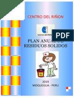 Plan Anual de Residuos Solidos Essalud - Cer