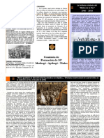 Triptico del Malón de la paz