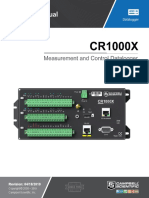 Cr1000x Product Manual