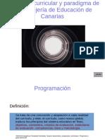 Propuesta Curricular Canarias