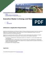 Hamad Bin Khalifa University - Executive Master in Energy and Resources - 2018-09-06