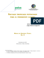 005 - D.T - Frutales Tropicales Potenciales para el Piedemonte Llanero.pdf