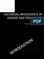 historicalantecedentsofscienceandtechnology-190629032449
