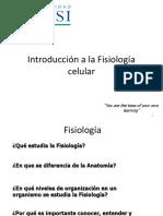 01 Introduccion a La Fisiología Celular (1)