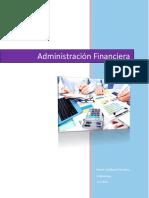 Carpeta de evidencias de Administración financiera