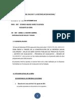 MODELO DE INFORME DE GEOLOGÍA