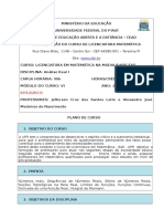 Plano Analise Real 2019.2